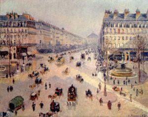 Avenue de l'Opera, Paris, 1898 by Camille Pissarro