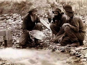 gold rush miners